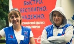 Акция «Россия, тестируйся!» в Пушкине 4 сентября 2016 года