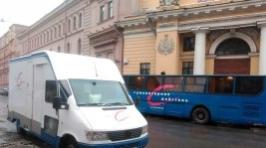 Акция «Россия, тестируйся!» на Малой Садовой