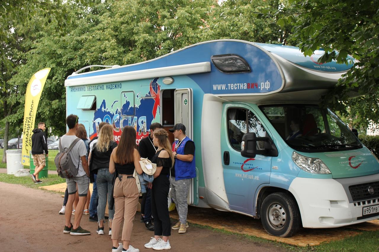 Более 300 гостей VK Fest сдали тесты на ВИЧ и гепатит C