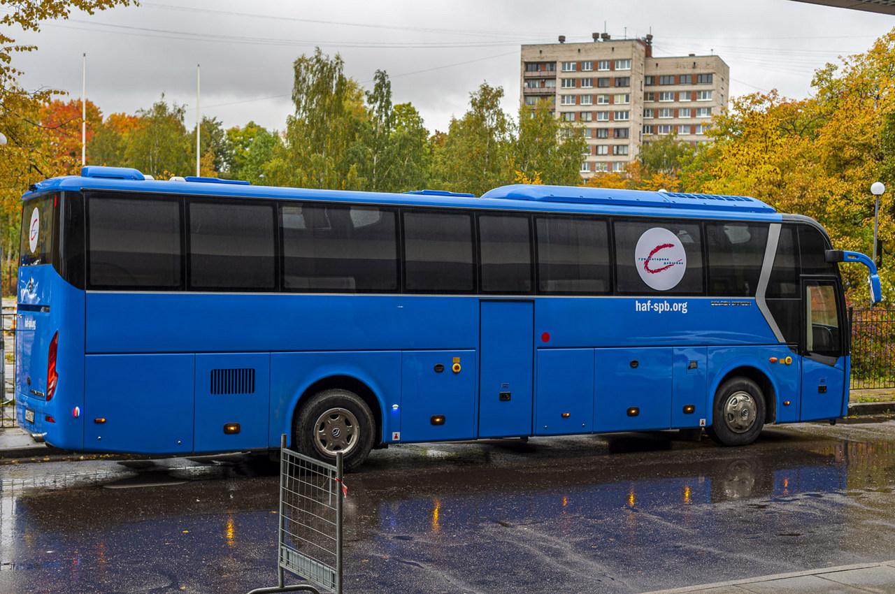 синий автобус петербург