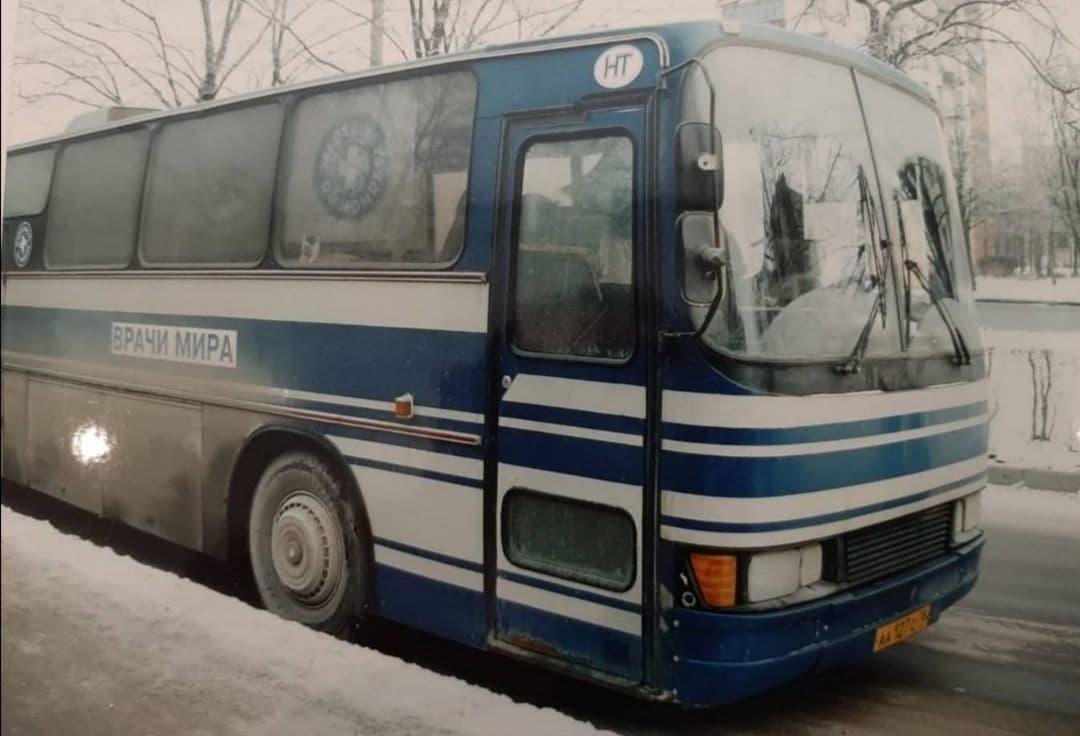 Синий автобус 2000-е